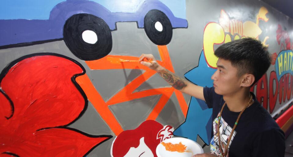 文化墙体彩绘