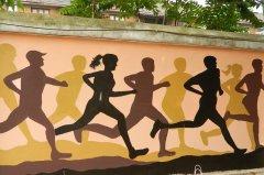 体育运动墙绘素材展示