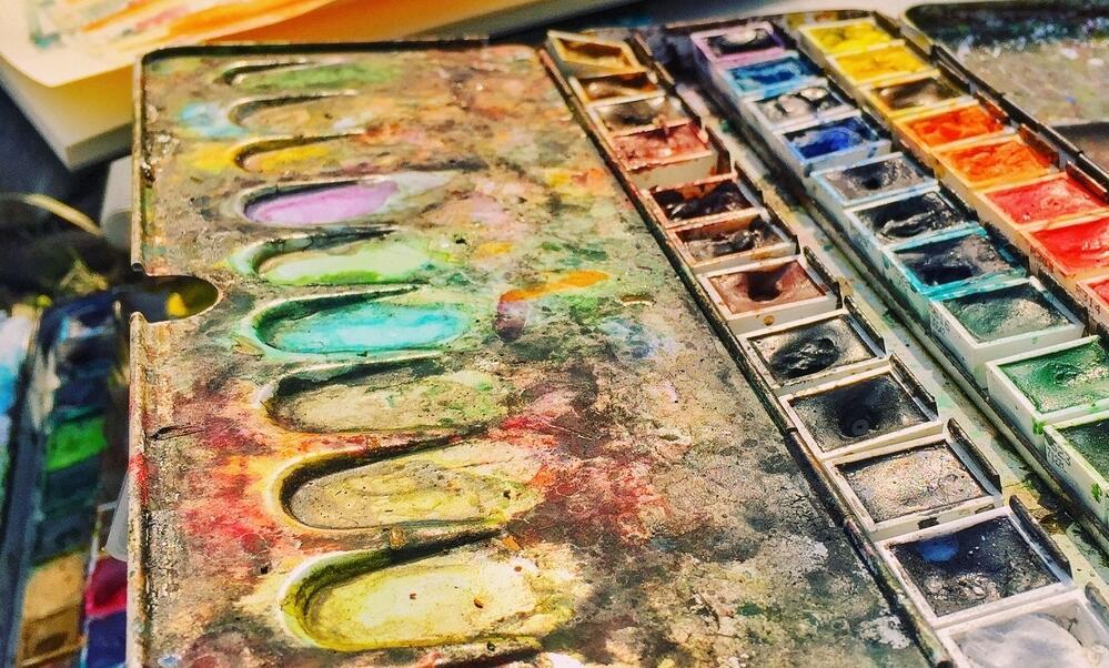 墙绘颜料制作原材料