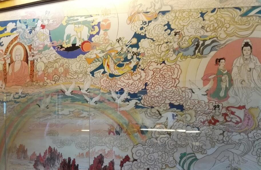 宗教手绘墙
