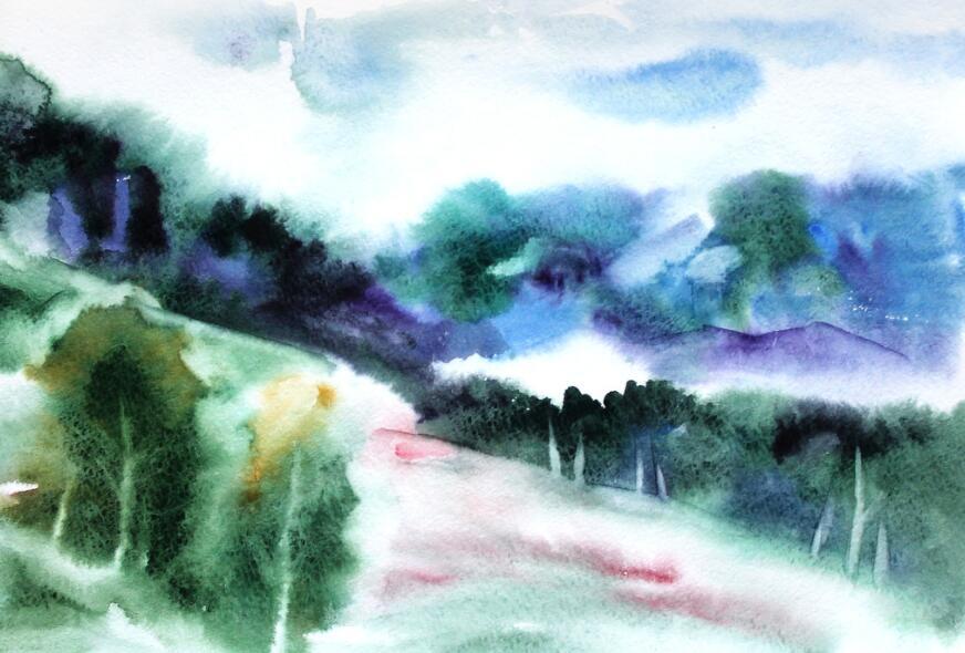 森林主题赣州墙体彩绘