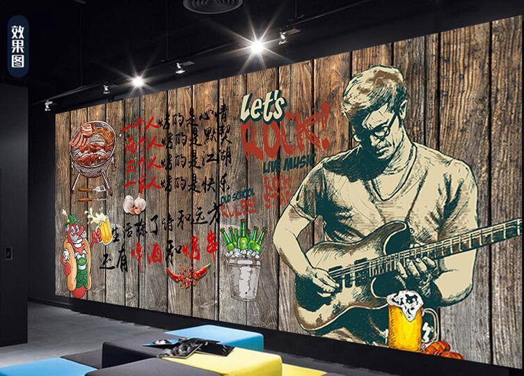 赣州餐厅主题墙绘