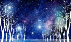 宇宙星空墙绘素材集锦