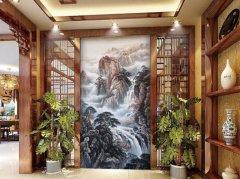 原来硅藻泥彩绘墙绘还可以这么美
