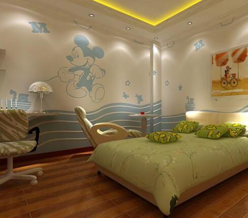 室内硅藻泥墙绘