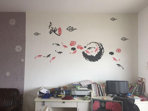 硅藻泥墙绘