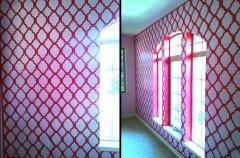 创意特色墙绘—蜡笔画家居墙绘