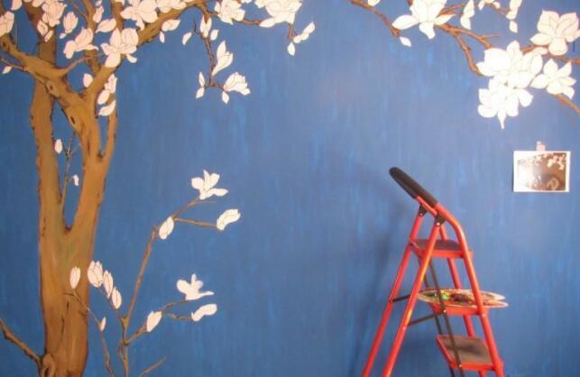 墙体彩绘的步骤