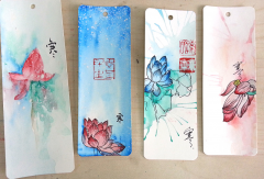 手绘书签的收藏和注意事项