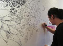 墙绘壁画设计的构思