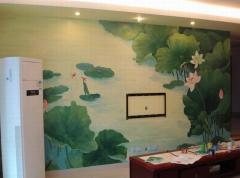 餐厅墙绘绘制注意事项