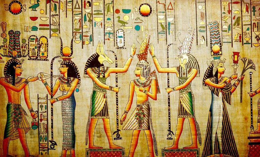 古埃及装饰壁画